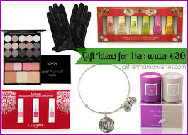 christmas gift guide for her under u20ac30