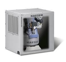 dental compressors with sound enclosure u2013 kaeser kompressoren