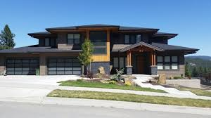 prairie style contemporary two story