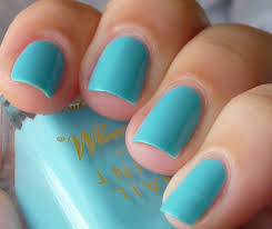 nail polish anon barry m turquoise