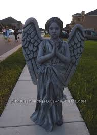 4 year old boy halloween costumes homemade guardian angel statue costume for a 9 year old