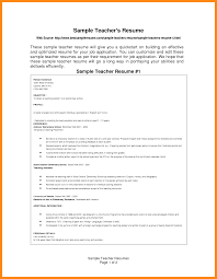 sample resume of teacher applicant resume applicant free resume example and writing download resume for teacher applicant cv template teaching flzdextf png