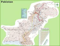 Pakistan On The Map Pakistan Maps Maps Of Pakistan