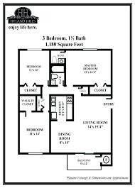 3 Bedroom Apartment Floor Plan Three Bedroom Apartments For Rent Hyland Hills Apartments