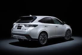 lexus harrier new model toyota harrier gr sport rear three quarter motor trend