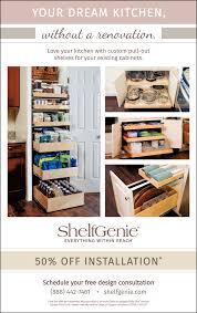 your dream kitchen without a renovation shelfgenie
