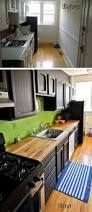 Before And After Kitchen Makeovers Different Color Upper And Lower Kitchen Cabinets Elegant Home Design