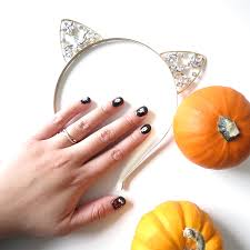 lazy approved kiss nail art stickers halloween edition