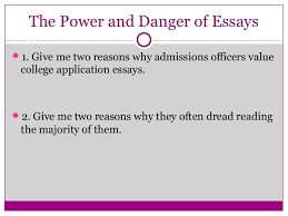 Getting A Head Start On College Application Essays  Impact and Initia    SlideShare