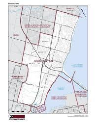 Hamilton Canada Map Burlington Conservative Association