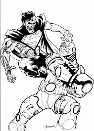 cyborg coloring pages coloring home