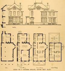 Mid Century Modern House Plan Lovely Design Ideas Antique Architectural Plans For Sale 4 Mid