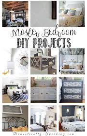 Home Decor Diy Projects Diy Room Decor Ideas For The Master Bedroom Domestically Speaking