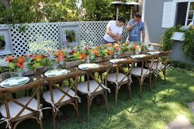outdoor party ideas michigan home design plus simple garden