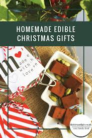 Home Made Christmas Gifts by Homemade Edible Christmas Gifts Daisies U0026 Pie