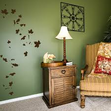 falling leaves wall decal sticker falling leaves wall decal create