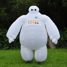 halloween inflatable costume big hero 6 baymax party cosplay