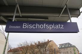 Dresden Bischofsplatz station
