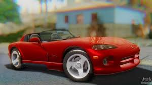 Dodge Viper 1997 - dodge viper for gta san andreas