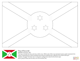flag of burundi coloring page free printable coloring pages