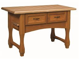 Wooden Kitchen Island Table Wood Kitchen Island With Built In Seating