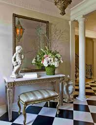 decorations amusing foyer decorating with rectangle frame wall