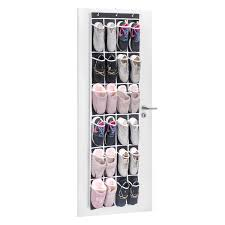 over the door shoe organizer maidmax 24 mesh pockets single sided