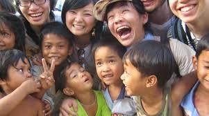 larawan ng mga Thai, mga bata at kabataan
