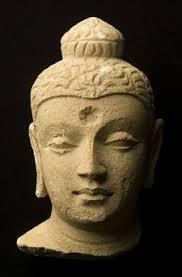 testa di Buddha del Gandhara