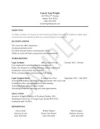 Resume Profile Section Examples by Resume Example Objective Section