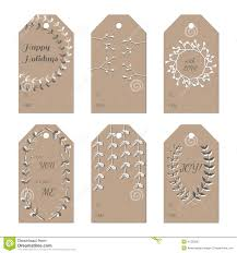 new years wedding invitations christmas new year holidays gift tags set stock vector image