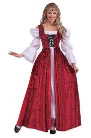amazon com forum novelties women u0027s medieval lace up costume gown