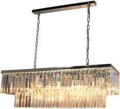 artcraft ac10407ch el dorado chrome kitchen island light fixture