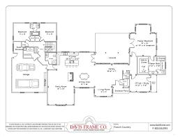 basic single story house plans arts