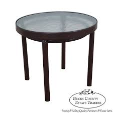 Vintage Brown Jordan Patio Furniture - 9189 brown jordan tamiami vintage aluminum patio side table
