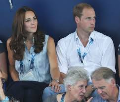 prince william steps in to help kate as temperatures soar at