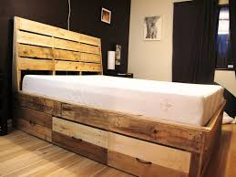 Diy Ikea Bed Bed Frame Wooden Bed Frame King Size Wood Frames With Drawers