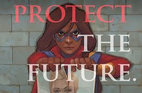 Ms. Marvel rasga foto de sua ídolo em capa de Guerra Civil II | heroi
