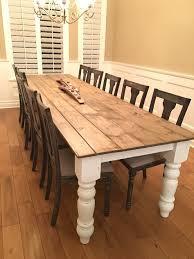 Best Farmhouse Dining Tables Ideas On Pinterest Farmhouse - Farmhouse kitchen tables