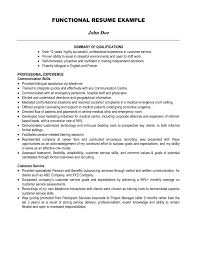 Resume Summary Examples Customer Service by Charming Resume Summary Examples