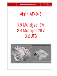aisin af40 manual transmission automatic transmission