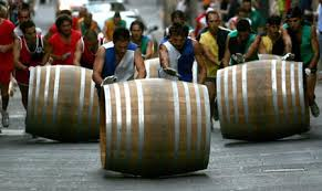 Bravio delle Botti (Barrels Competition)   August 26th , 2012   Montepulciano (SIENA)