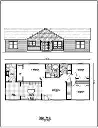 Ranch Style House Plans by 100 Small Ranch Floor Plans 48 Simple Small Open Floor