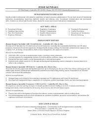 Sample Objectives In Resume For It by Hr Resume Objective 9 Hr Resume Objective Templates Uxhandy Com