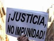 ¡Justicia, no impunidad!