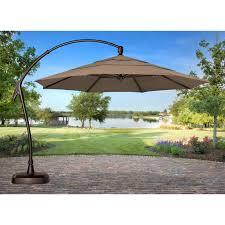 Walmart Beach Umbrellas Decorating Enchanting Garden Treasures Offset Umbrella For