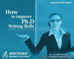 Thesis Synopsis Writing BIG Education Research Centre Chemistry