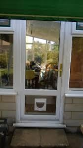 catflap in glass door cat dog flap fitter bath midsomer norton trowbridge castle carry