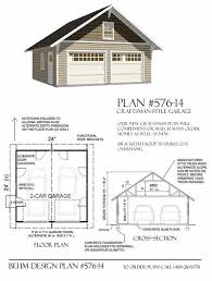 garage plans 2 car craftsman style garage plan 576 14 24 x garage plans 2 car craftsman style garage plan x two car by behm design