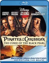 Piratas del Caribe: La Maldición del Perla Negra [BD25]